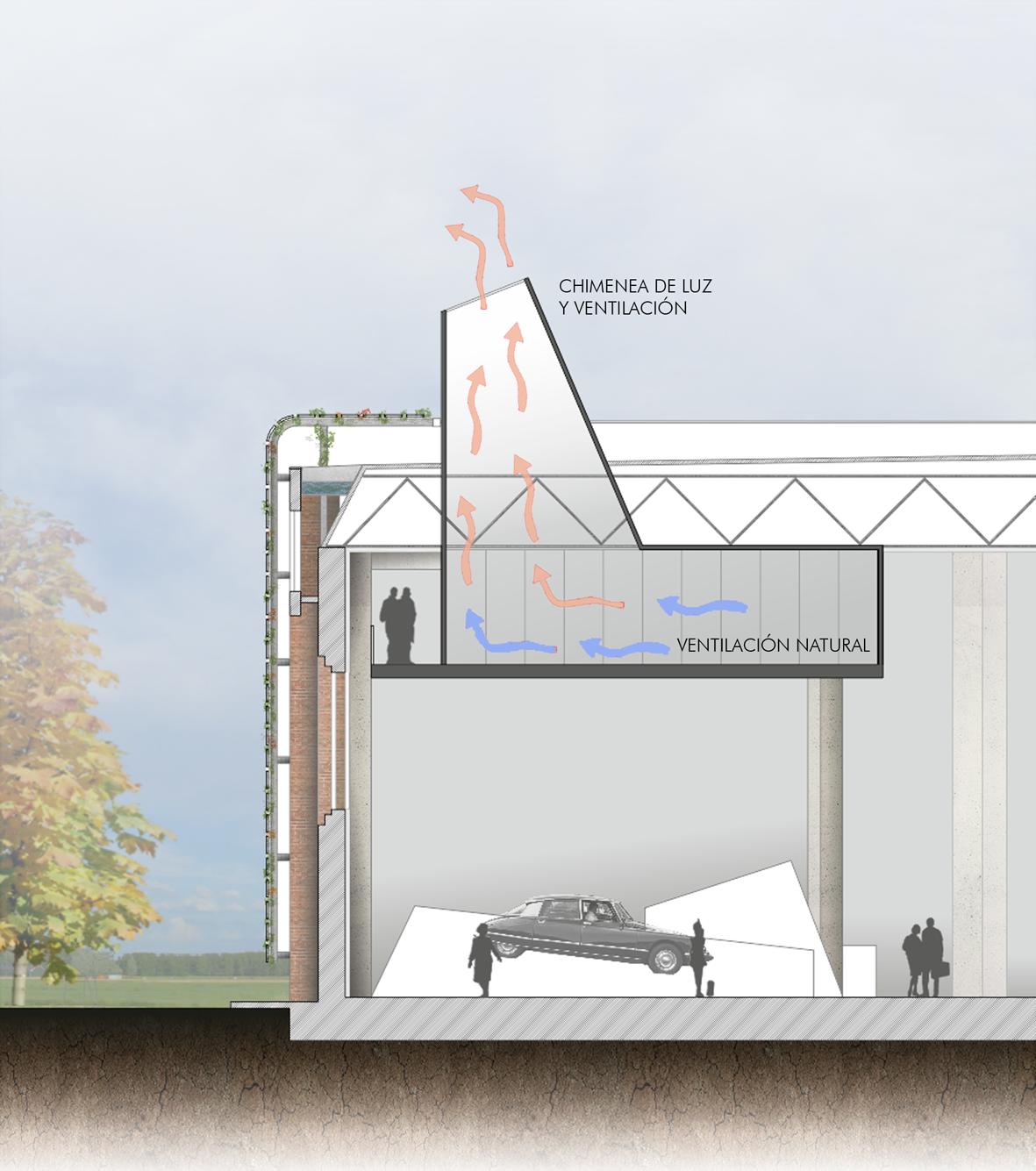 chimenea de luz y ventilaci n mm arquitectura