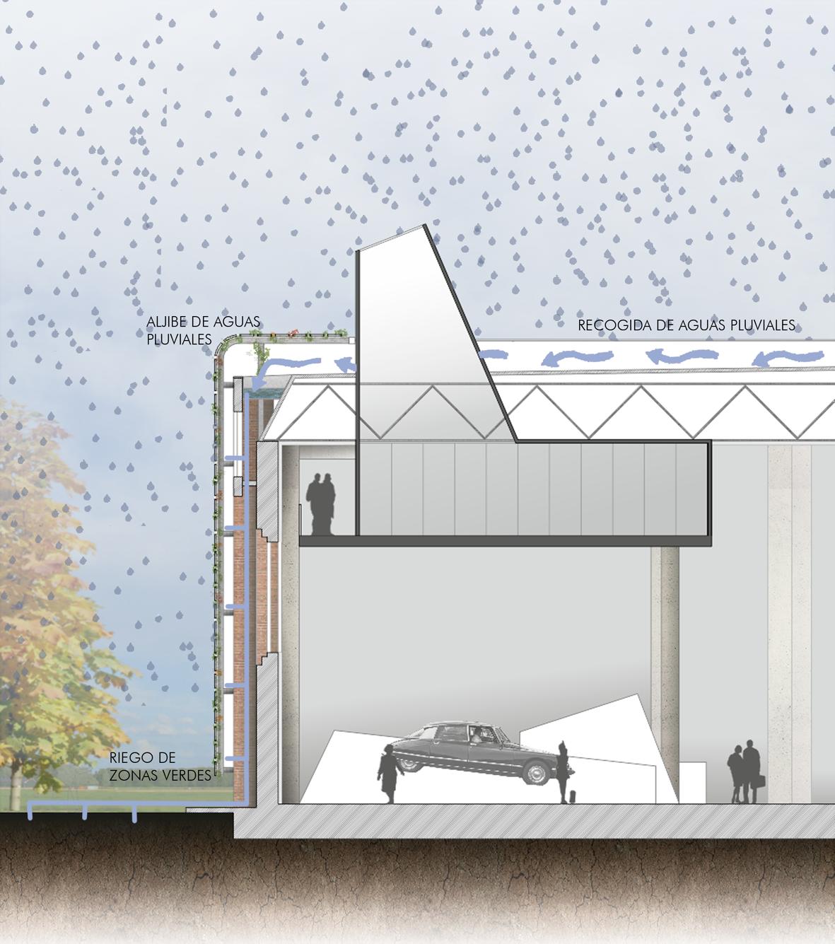 Recogida de aguas pluviales mm arquitectura - Recogida aguas pluviales ...